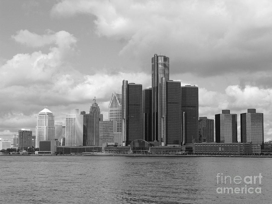 Detroit Skyscape Photograph