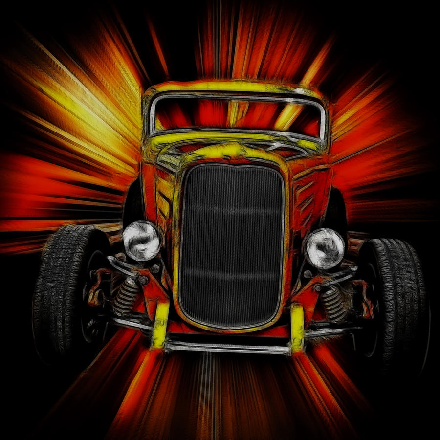 Deuce Coupe Art Photograph By Steve McKinzie