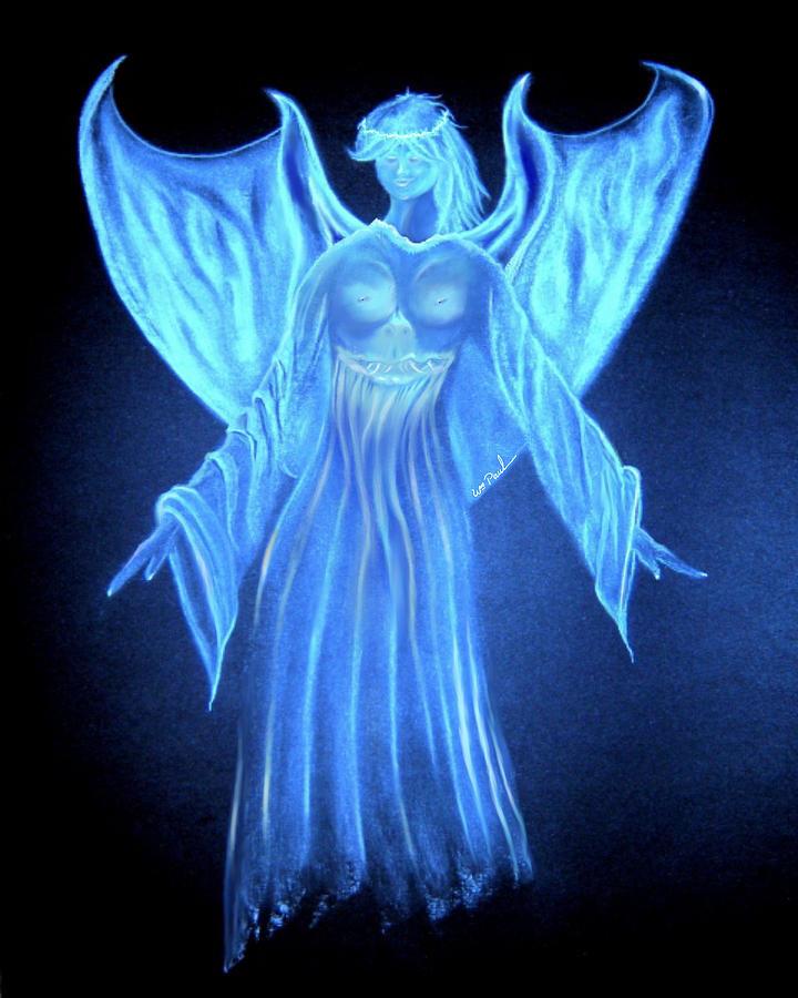 Angel  Mixed Media - Devil An Angel by William  Paul Marlette