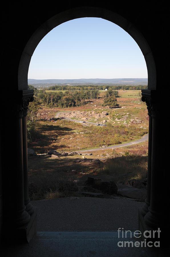 Devils Den From Little Round Top In Gettysburg Photograph