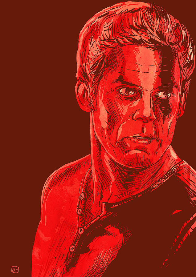 Dexter Drawing  - Dexter Fine Art Print