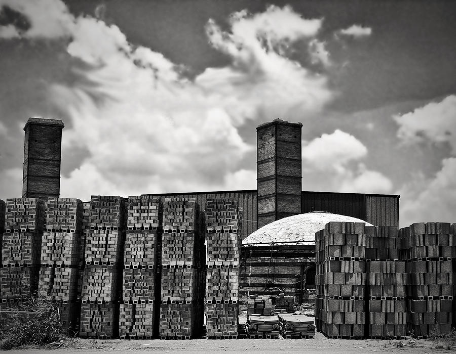 Dhanis Brick Factory Photograph  - Dhanis Brick Factory Fine Art Print