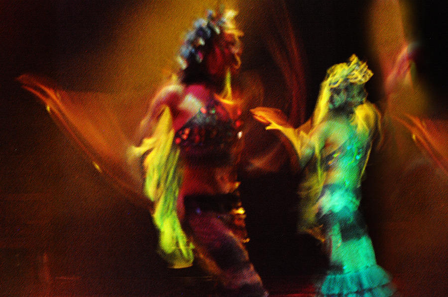 Diabolic. Passionate Dance Of The Night Angels Photograph