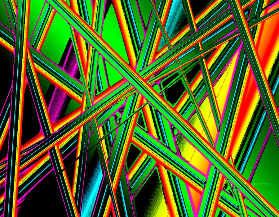 Diagonal Line In Art : Diagonal lines digital art by mario perez