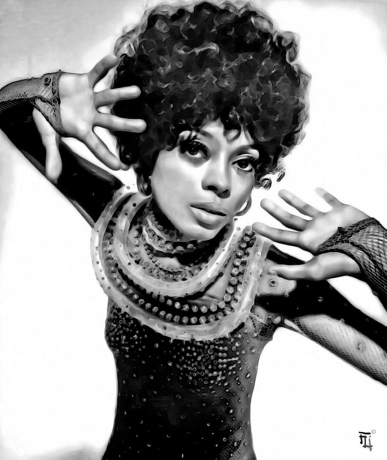 Diana Ross 2 Digital Art
