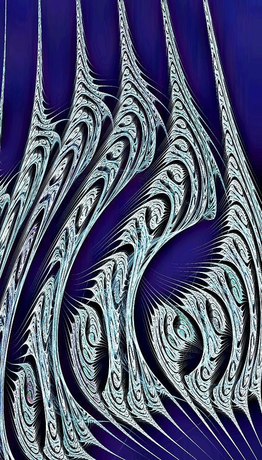Digital Carvings Digital Art  - Digital Carvings Fine Art Print