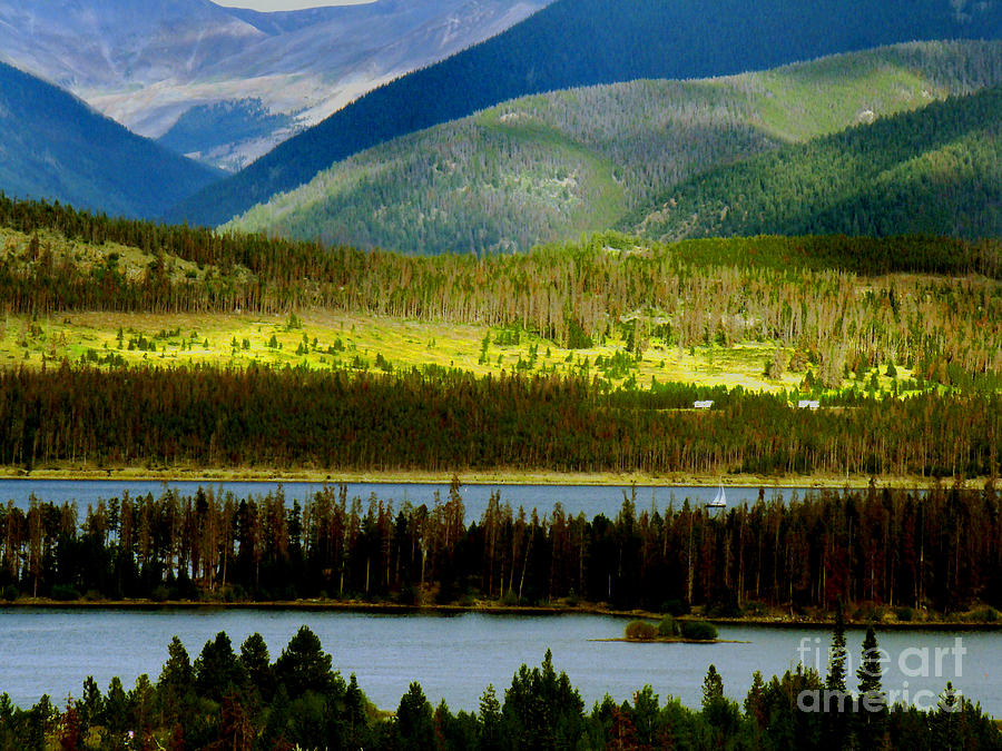 Dillon Reservoir Photograph  - Dillon Reservoir Fine Art Print