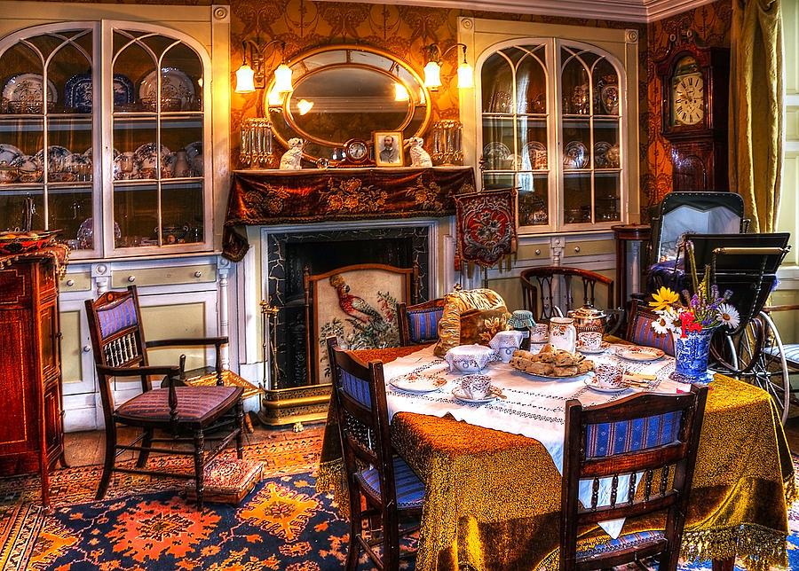 Beamish Photograph - Dinning Room by Svetlana Sewell