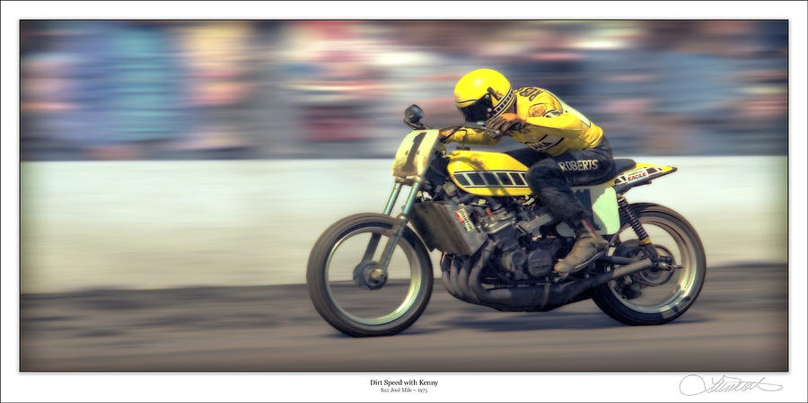 Dirt Speed Photograph  - Dirt Speed Fine Art Print