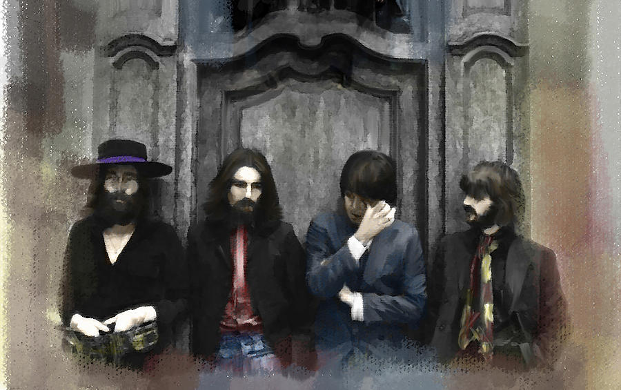 Discontent  The Beatles Painting