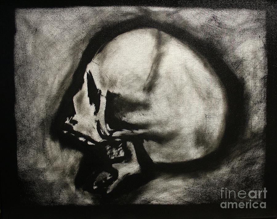 Display My Skull For All The Judge Painting  - Display My Skull For All The Judge Fine Art Print