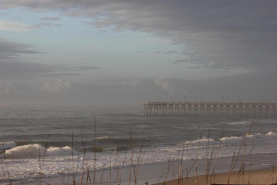 Distant Pier Photograph