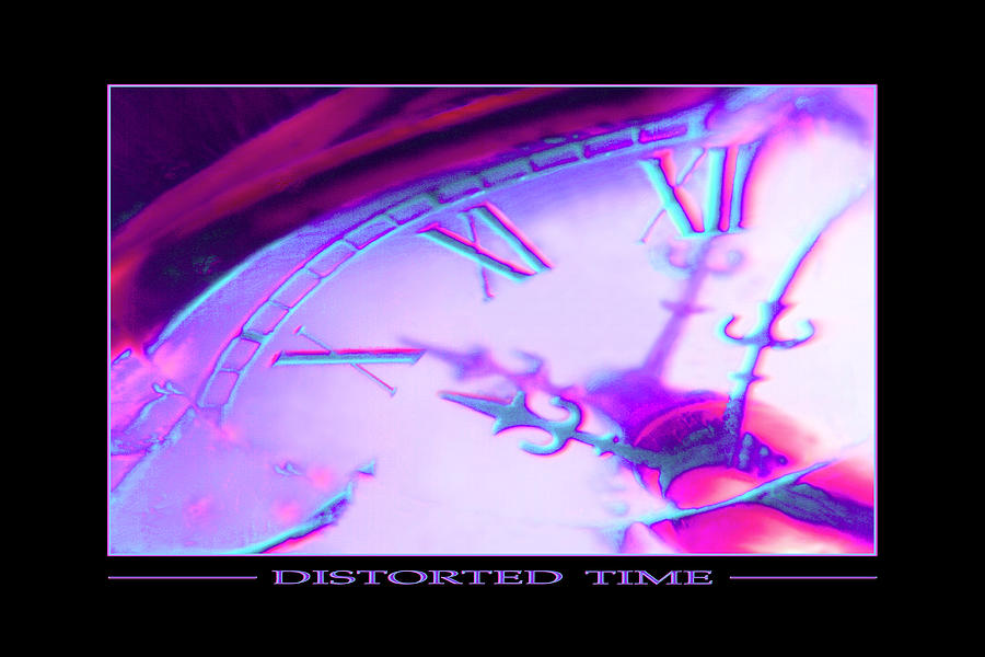 Surreal Photograph - Distorted Time by Mike McGlothlen