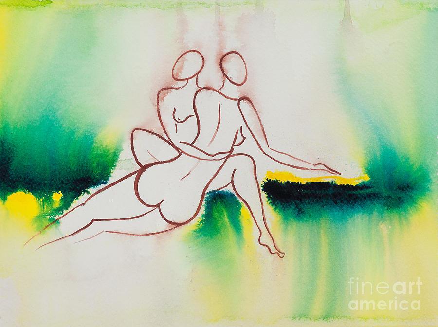 Divine Love Series No. 2090 Painting