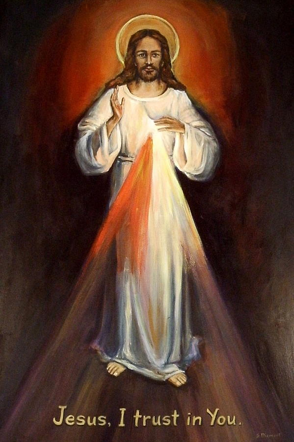 Divine Mercy II Painting