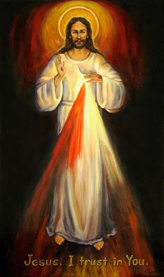 Divine Mercy Painting