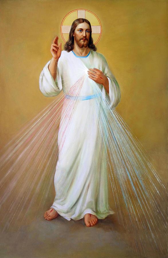 Divine Mercy. Divina Misericordia. Milosierdzie Boze Painting