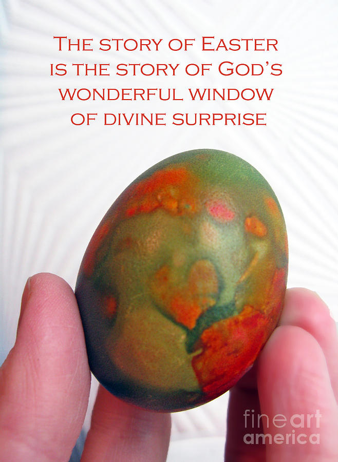 Easter Egg Photograph - Divine Surprise by Ausra Huntington nee Paulauskaite