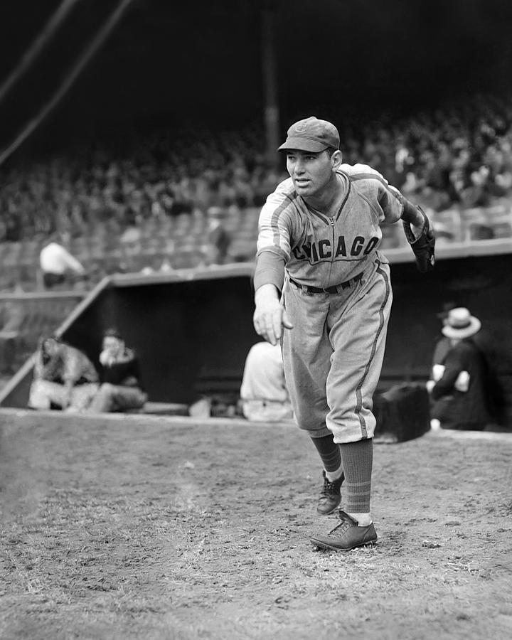 Dizzy Dean Cubs Pitcher Photograph