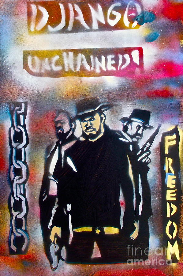 Django Freedom Painting
