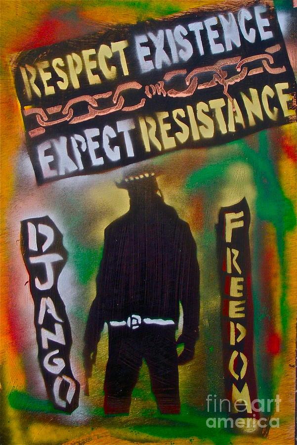 Django Resistance Painting