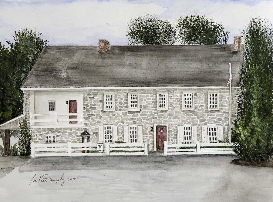 Dobbin house 1774 painting by barbara murphy for Dobbins homes