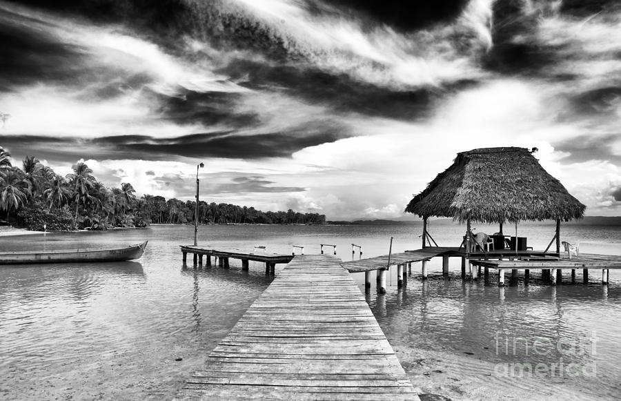 Dock At Drago Photograph  - Dock At Drago Fine Art Print
