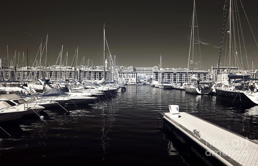 Dock In The Port Photograph  - Dock In The Port Fine Art Print