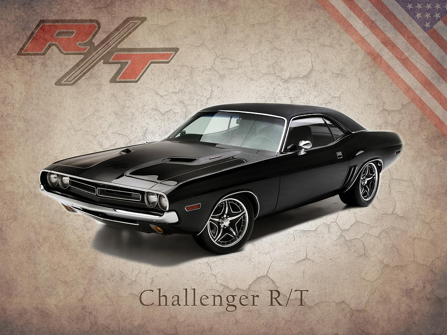 Dodge Challenger Rt Photograph