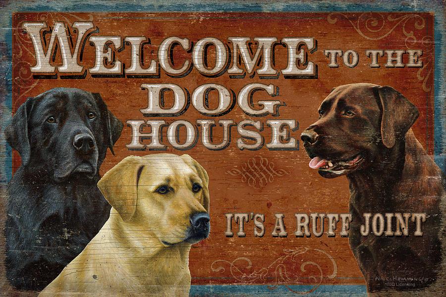 Dog House Painting