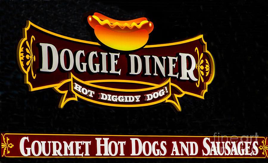 Doggie Diner Photograph - Doggie Diner by Mitch Shindelbower