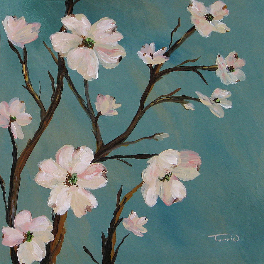 dogwood painting by torrie smiley