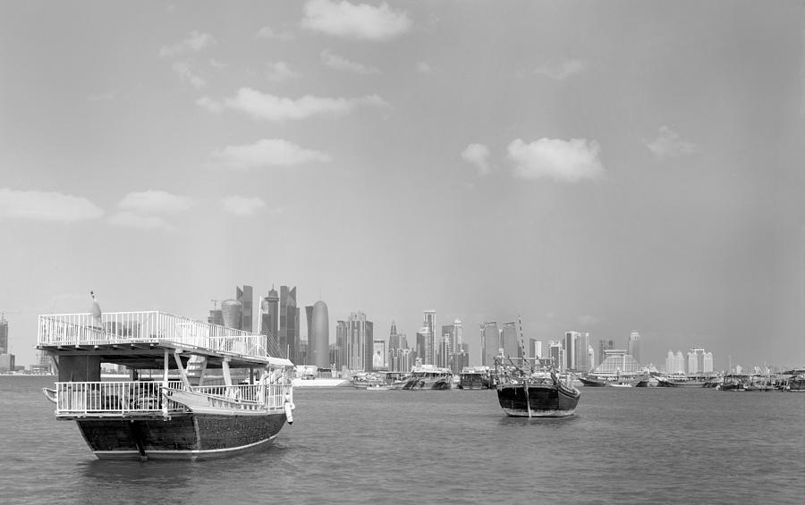 Doha Bay In Winter Photograph  - Doha Bay In Winter Fine Art Print