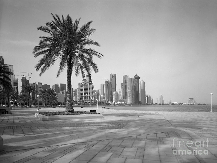 Doha Corniche April 2013 Photograph  - Doha Corniche April 2013 Fine Art Print