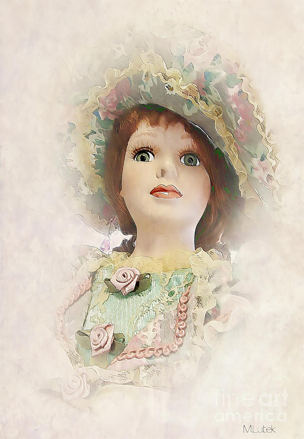 Doll 624-12-13 Marucii Painting