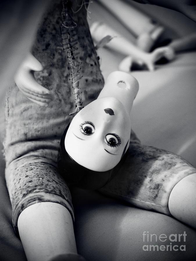Doll Pyrography - Doll by Jelena Jovanovic