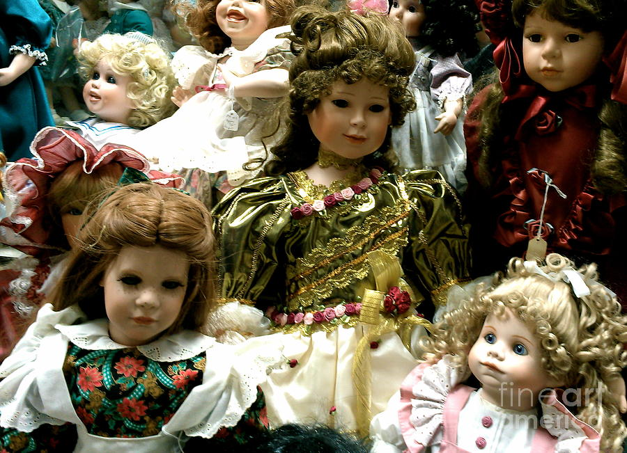 Dolls Photograph  - Dolls Fine Art Print