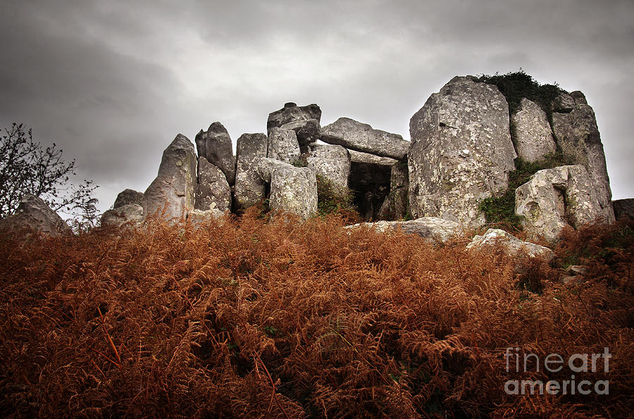 Portugal Photograph - Dolmen by Carlos Caetano