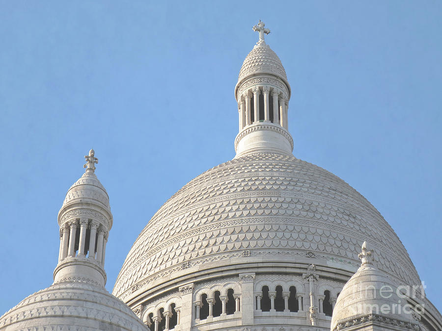 Paris Photograph - Dome Of Sacre-coeur by Ann Horn