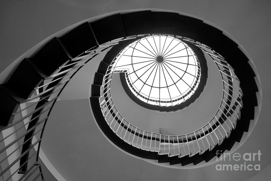 Dominican University Stairway Photograph  - Dominican University Stairway Fine Art Print