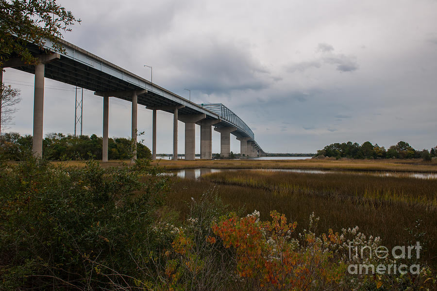 Don Holt Bridge Marshland Photograph