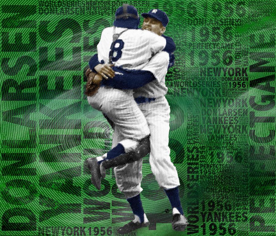 Don Larsen Yankees Perfect Game 1956 World Series Painting