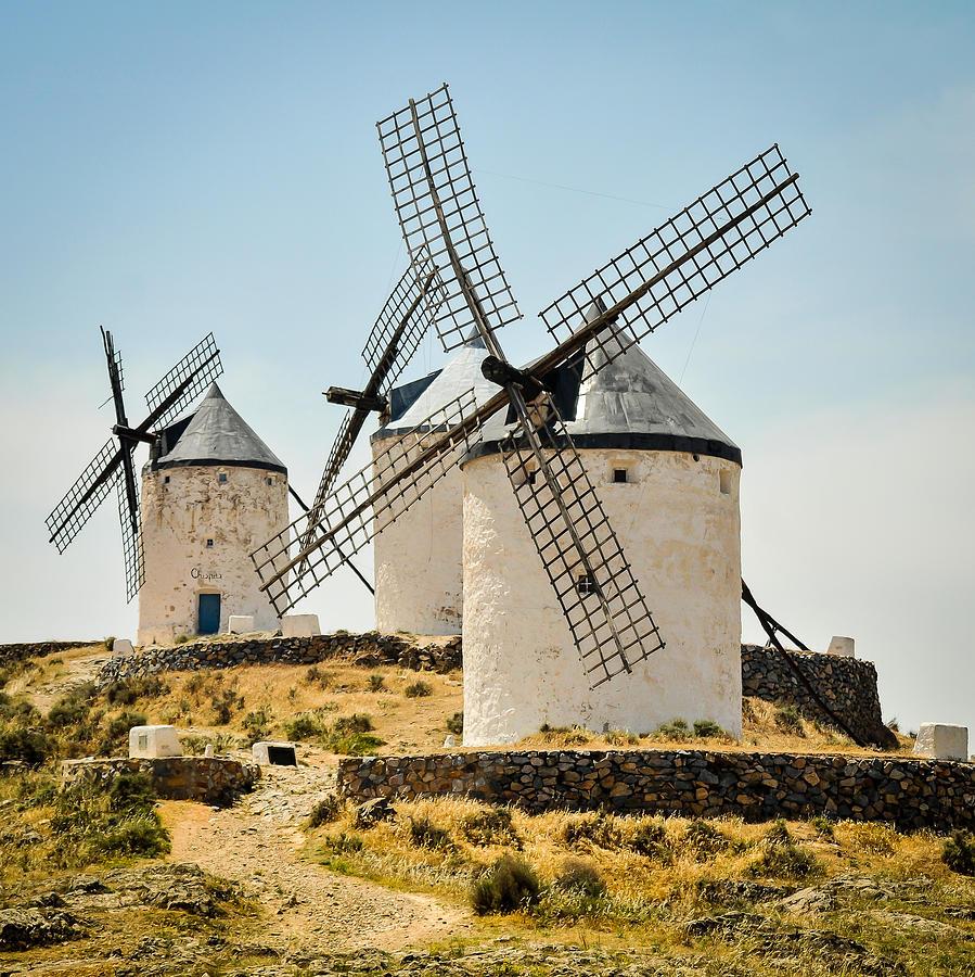 Don Quixotes Windmills Photograph