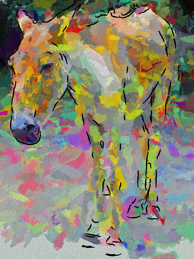 Donkey Digital Art - Donkeys Dreams by Yury Malkov