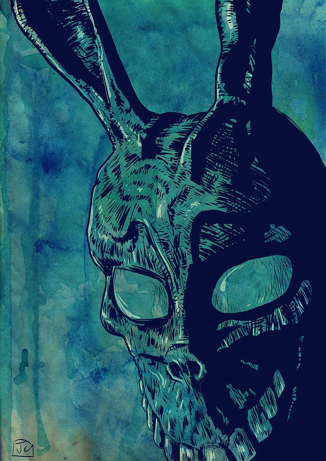 Donnie Darko Drawing - Donnie Darko by Giuseppe Cristiano