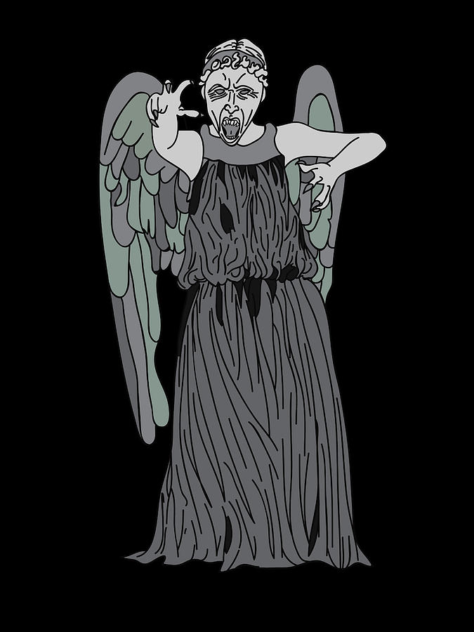 Dont Blink Digital Art  - Dont Blink Fine Art Print