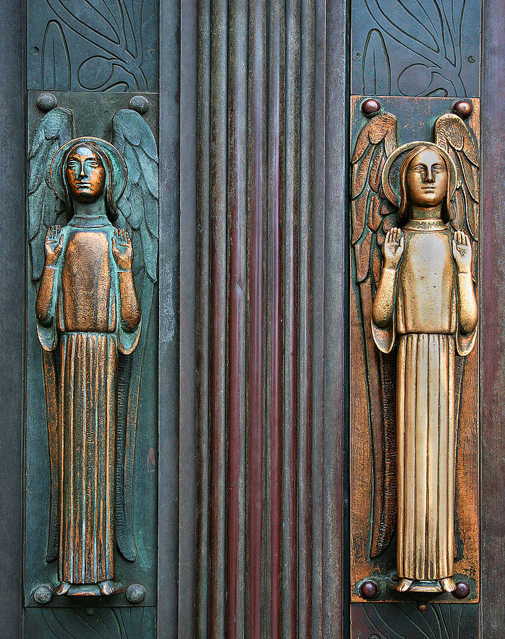 Door Guardians Photograph