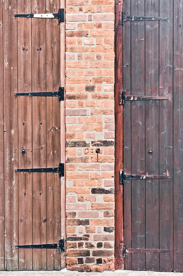 Door Hinges Photograph