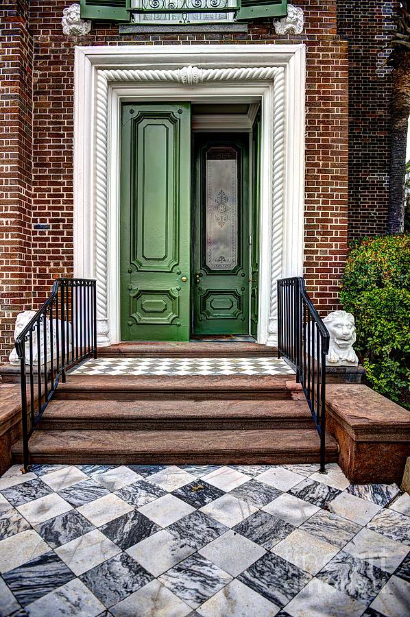 Doors Of Historic Charleston Photograph