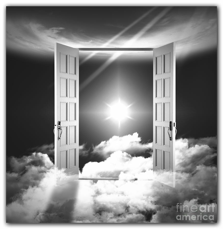 Doors To Paradise Photograph